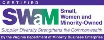 Certified Small, Women and Minority-Owned business